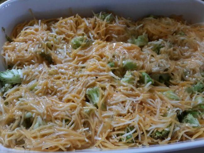 Huevo, queso y brocoli
